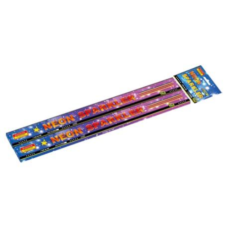 Neon sparkler 45cm